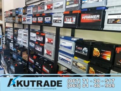 Akutrade - акумулятори для автомобілів у Львові