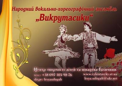 Народний вокально-хореографічний ансамбль «Викрутасики»