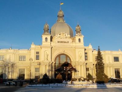 Жд вокзал Львів - головний залізничний вокзал