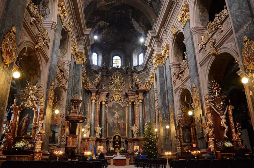 Костел Петра и Павла во Львове